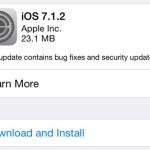 OTA iOS 7.1.2