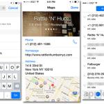 iOS 8 beta 5, google map,