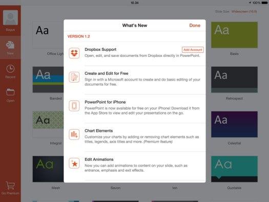 Update aplikasi Office untuk iOS