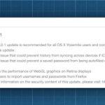 Safari, OS X Yosmite, OS X Maverick, Apps
