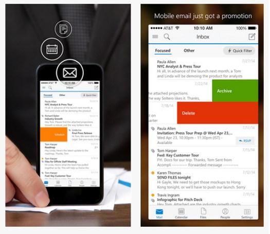 Microsoft, Outlook for iOS, Download Aplikasi iPad