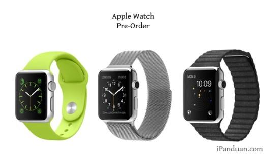 Apple Watch, Pre-Order, Apple
