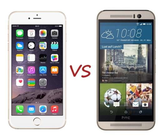 iPhone 6, HTC One M9