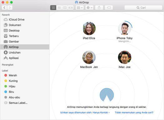Airdrop Apple
