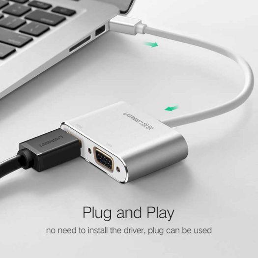 Menghubungkan MacBook ke LCD Proyektor