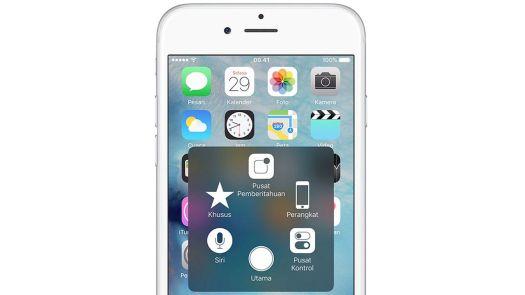 Cara Menampilkan Tombol Home di iPhone