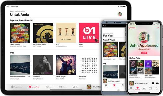 Cara Melihat Riwayat Lagu Yang Kamu Putar di Apple Music