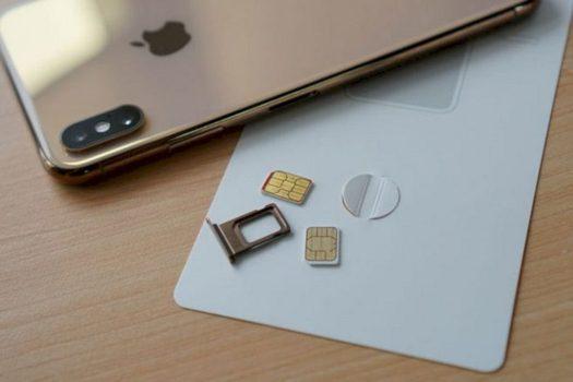 iPhone SE 2020 Menggunakan eSIM