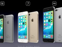 A beautiful concept shows the possible design of the iPhone SE, iPhone 7 and iPhone Pro
