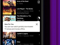 Netflix will allow you to watch movies and TV series even if they are only partially downloaded