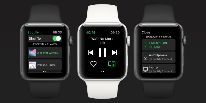 Spotify-for-Apple-Watch