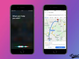 Ask Siri for Google Maps and Waze Directions on iOS 13