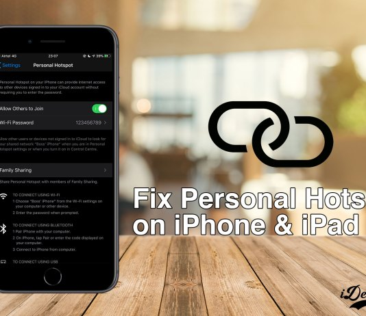 How to Fix Personal Hotspot Missing on iPhone and ipad