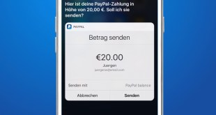 Send and Receive Money Through Siri and Paypal