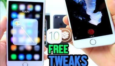 FREE Tweaks for iOS 10.2 Yalu Jailbreak