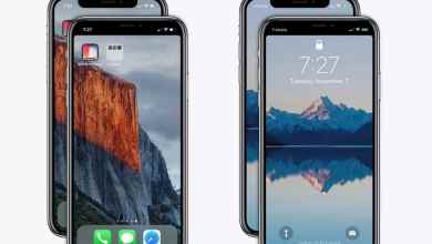 how to add a black bar across the iphone x to hide the notch