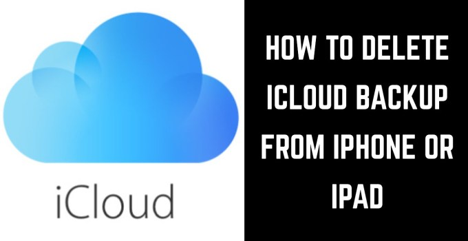 How to Delete Old iCloud Backups from iPhone/iPad