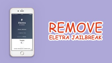 ElectraRemover1131 keep data after unjailbreak