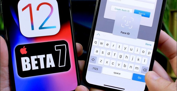 iOS 12 Beta 7 More Features updated and Changes