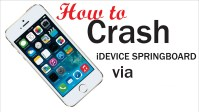 Crash Springboard Emoji activation screen iOS 10-10.2