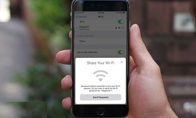 Share iphone wifi password ios11