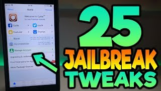 Top 25 Tweaks To Install jailbreak iOS 11.3.1