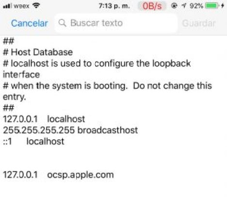 how to change host file