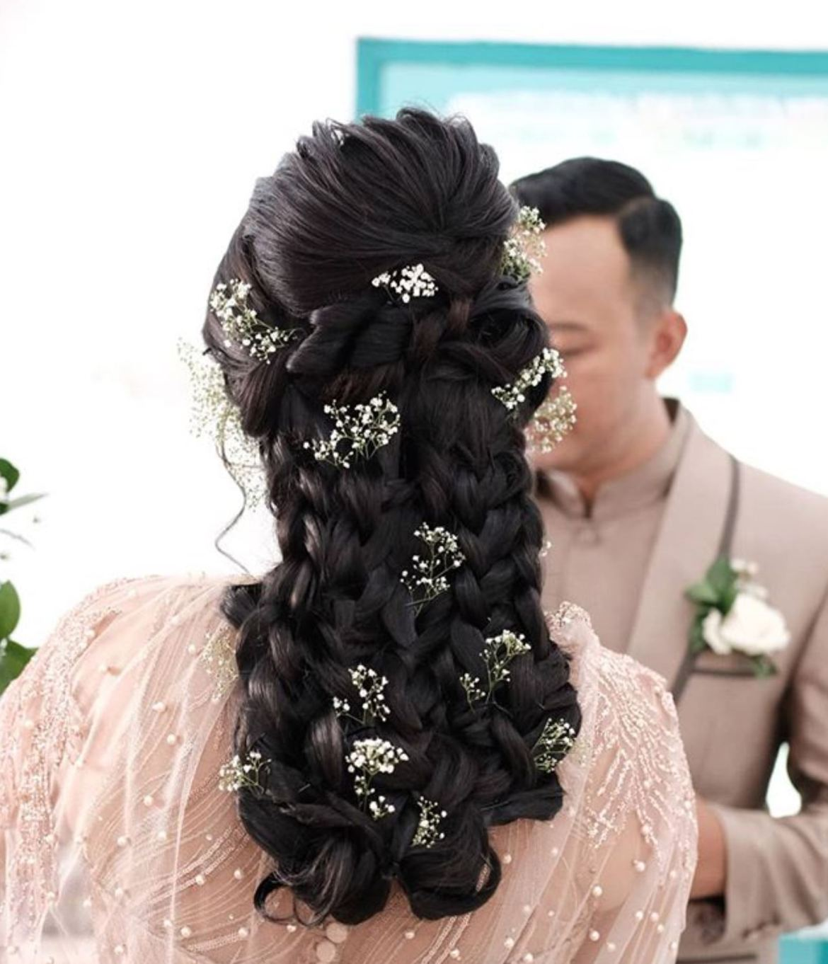 Tips Model Sanggul Pengantin Bunga