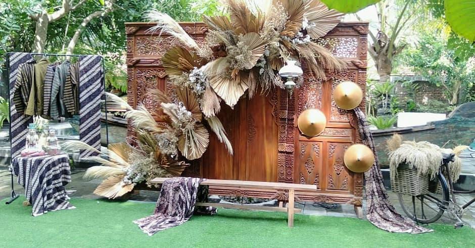 Dekorasi Pelaminan Klasik Jawa