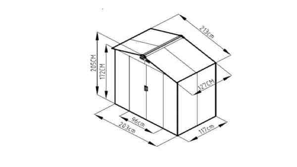 מחסן עמיד וזול ID74