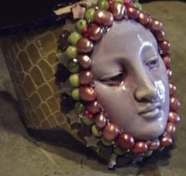 A OOAK cuff bracelet.