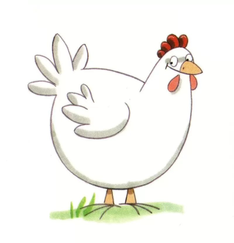 Printable Letter Coloring Pages E Gallinas Animadas Colouring
