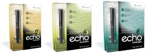 LiveScribe Echo 2gb 4gb 8gb SmartPen from Dictate Australia