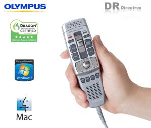 Olympus Directrec DR-2100 DR-220 DR-2300 Hand Held USB Digital Dictation Mic