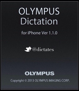 Olympus Dictation iOS App v1.1 iOS7 iPhone