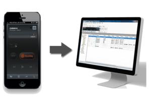 Olympus Mobile Dictation App