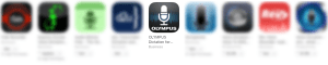 Olympus Dictation App - iOS and Android