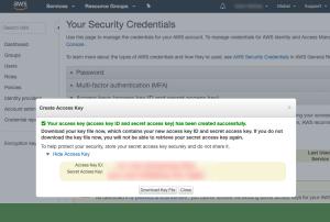 How to Create Access Keys for Amazon AI WordPress Plugin