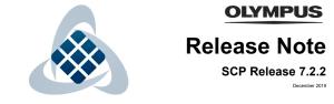 Olympus Australia Web SCP Release 7.2.2 - System Configuration Program - ODMS R7