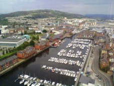 Swansea's original Marina