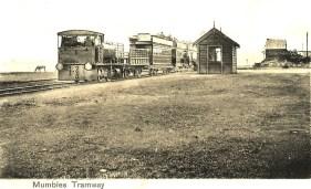 Early Mumbles train at Swansea