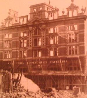 Woolworth Store 1941 High Street Swansea