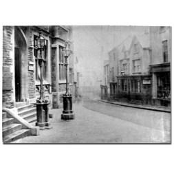 Early image of Castle Street Swansea