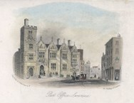 Post office Castle Street Swansea circa 1770