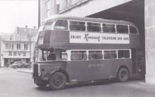 United Welsh - Leaving the Bus garage in Swansea