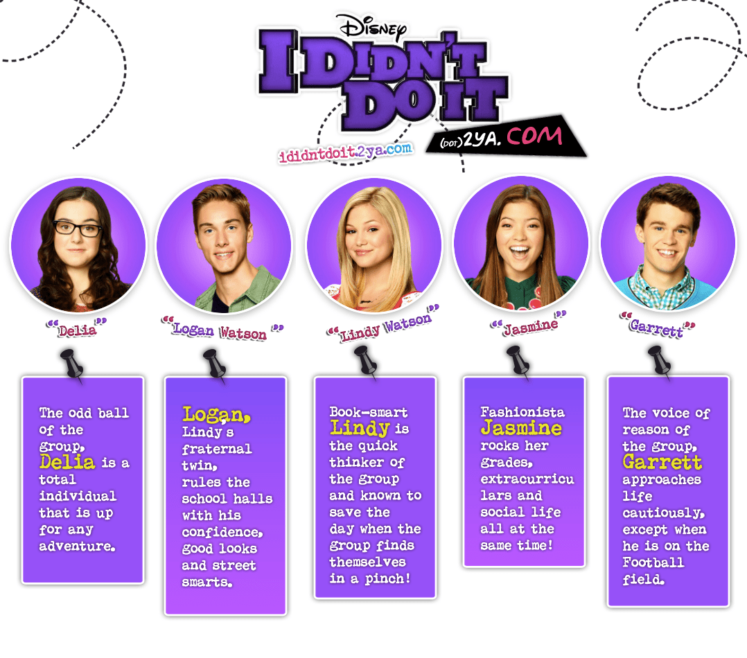 Official Site Check Out Disneychannel S Official I Didn T Do It Site Character Profiles