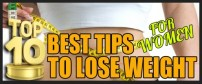 Top 10 Weight Loss Tips for Women