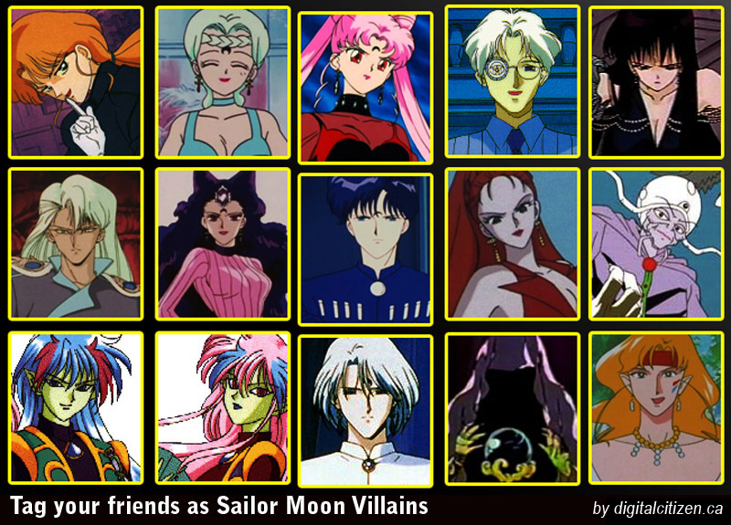 Sailor Moon Facebook Friends Tagging Meme And Wallpaper Digital