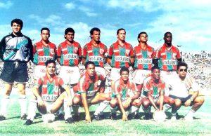 Daniel Nikolac con el Marítimo, en foto de Venezuela Fútbol.