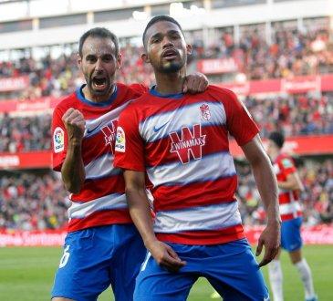 Yangel Herrera suma dos goles y dos asistencias con Granada en la actual temporada.